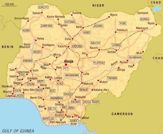 Islamistsekt anfaller stad i nigeria